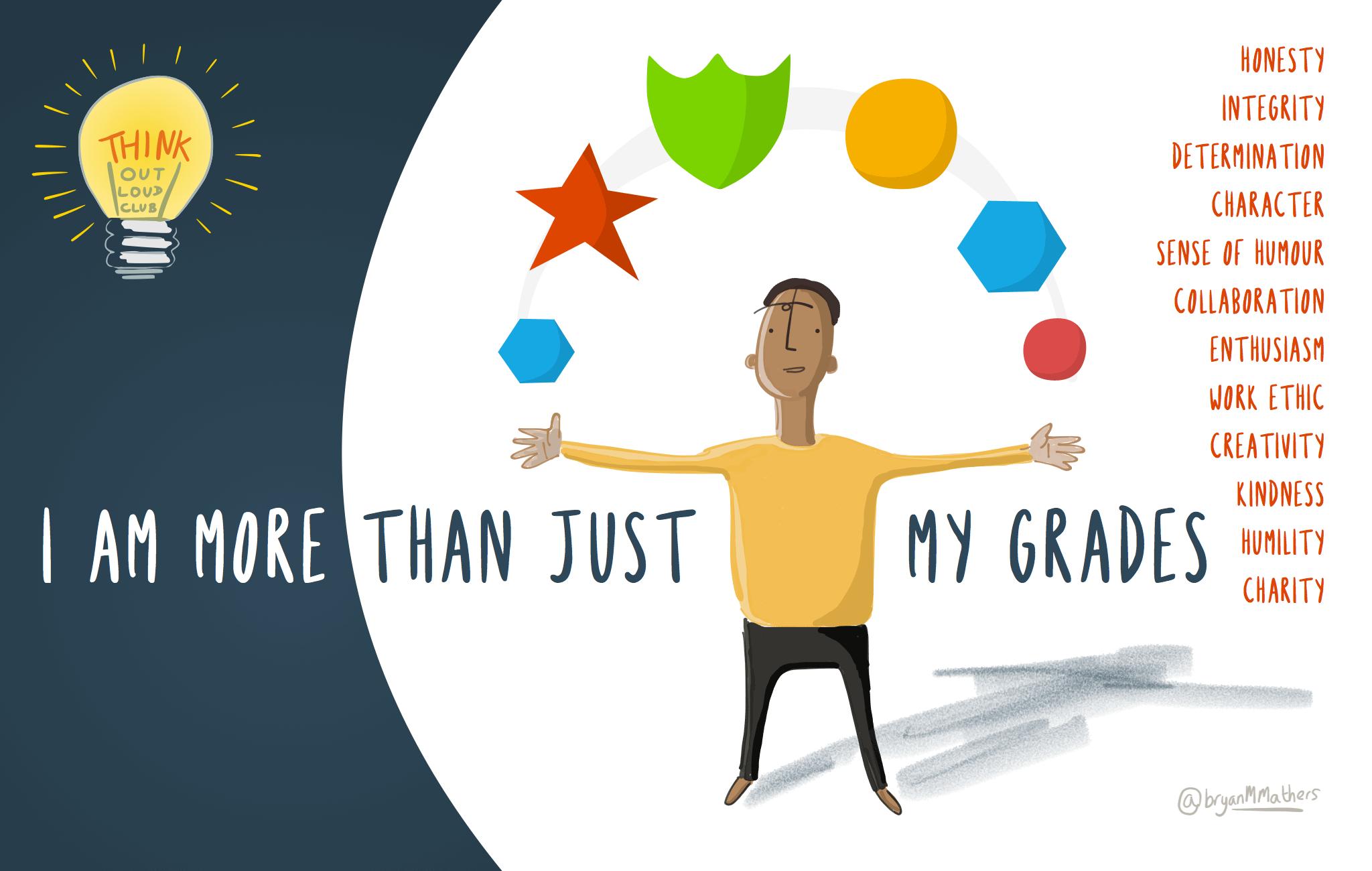 I am more than just my grades