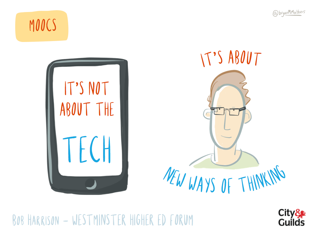 It's not about the tech