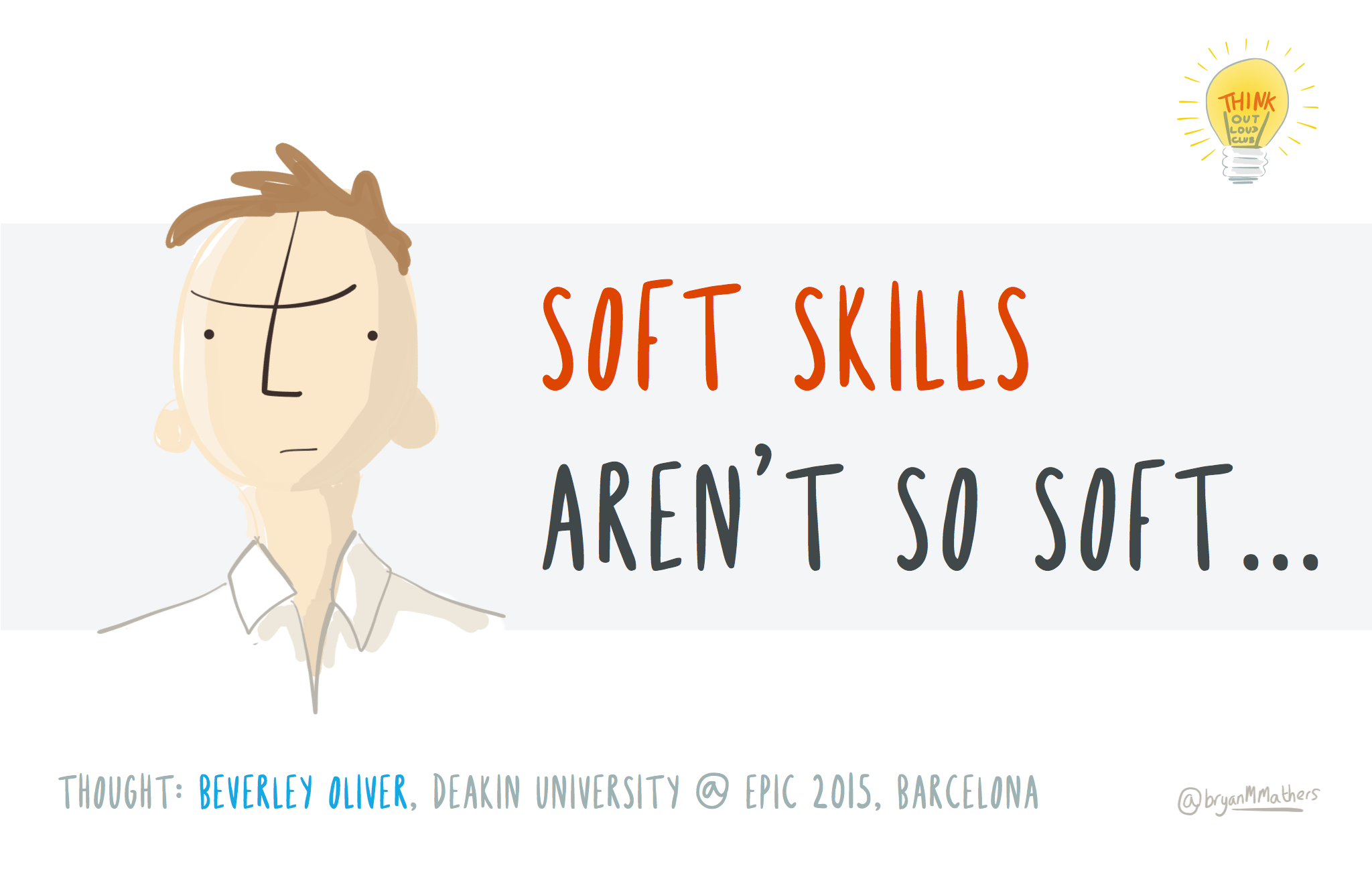 Soft skills aren't so soft