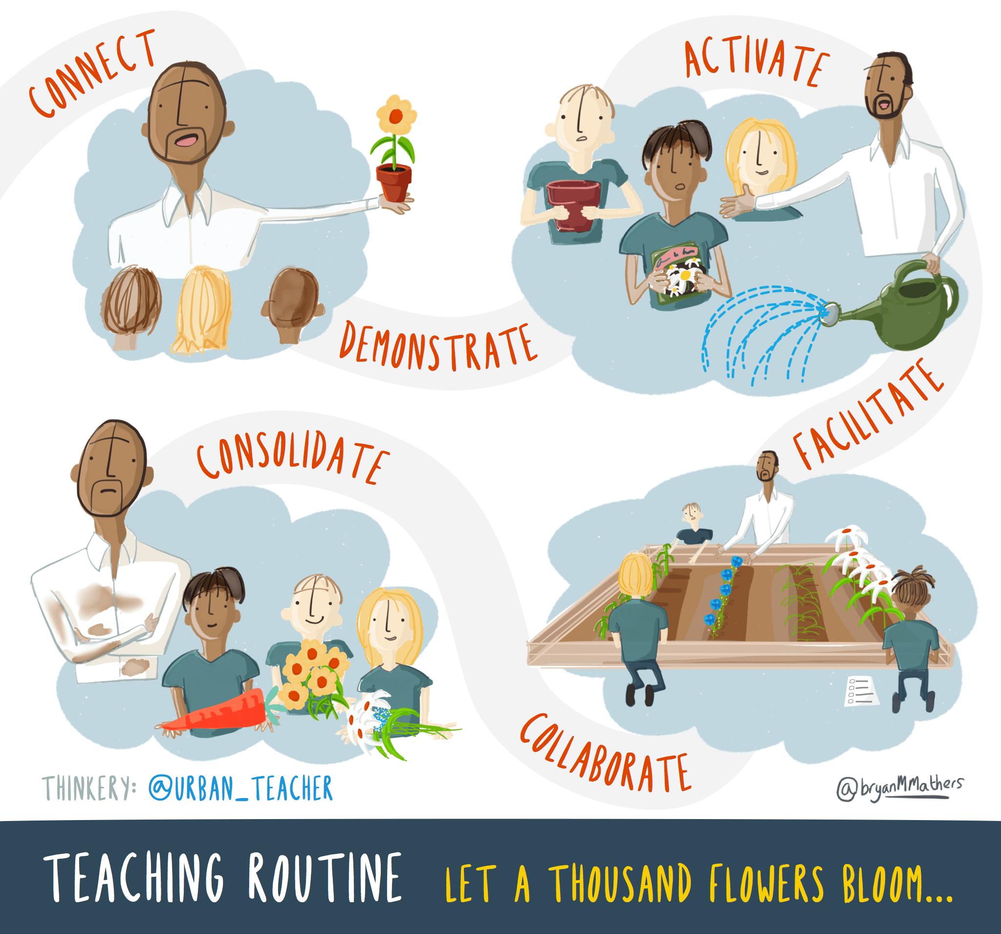 An Organic Teaching Routine