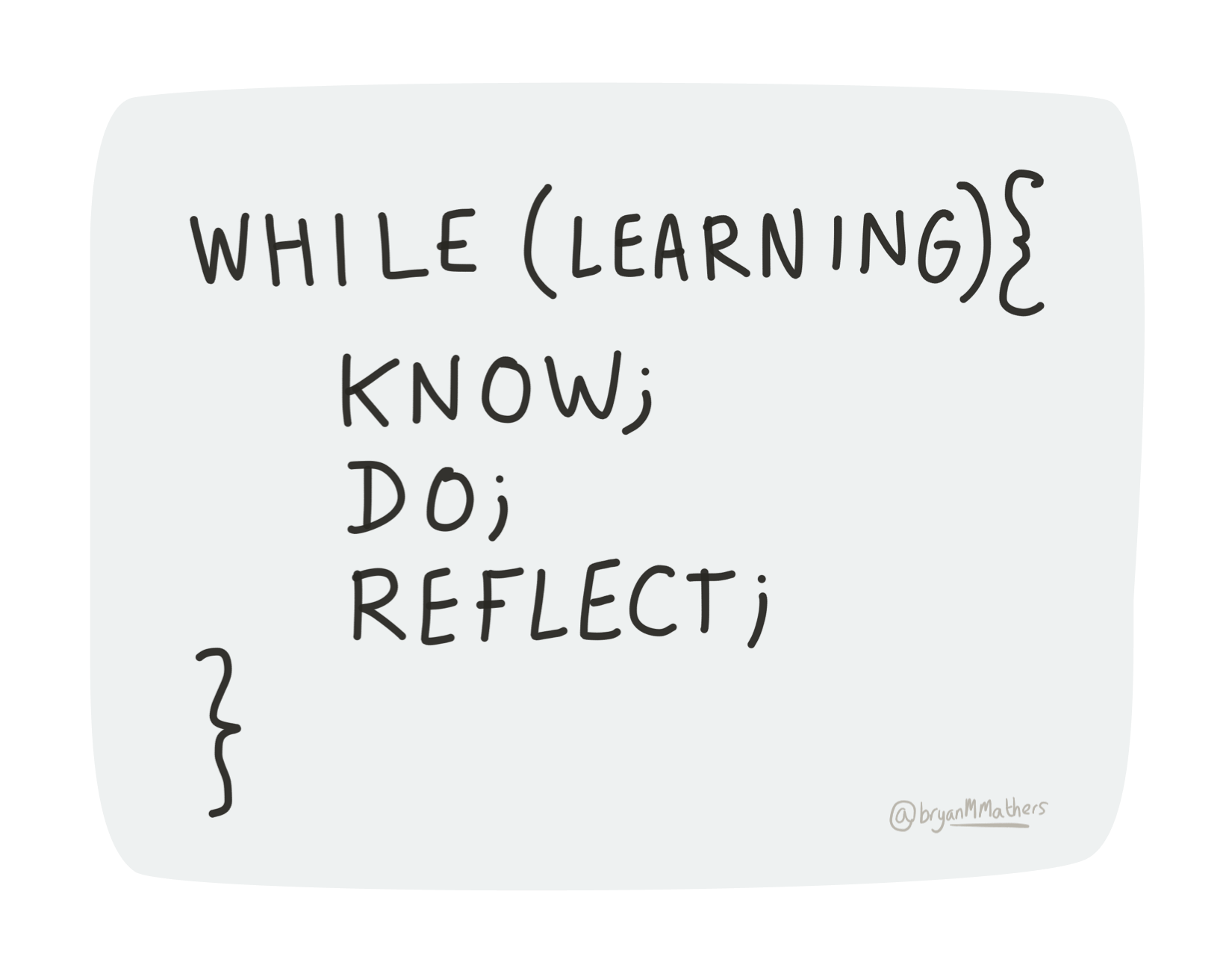 Know – Do – Reflect