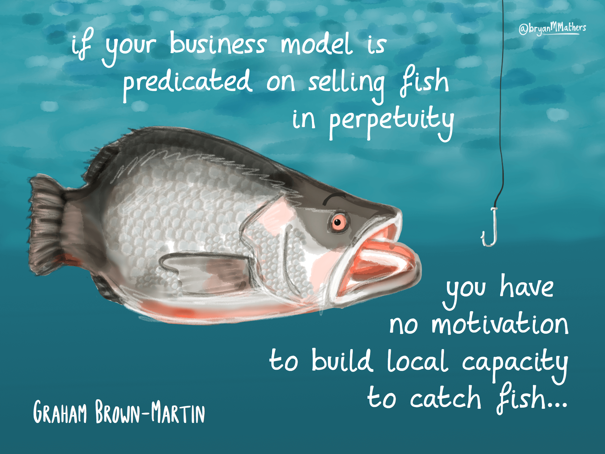 A fishy business model…