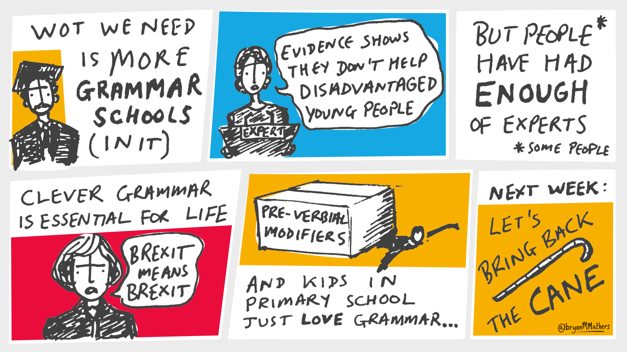Wot we need is more grammar schools