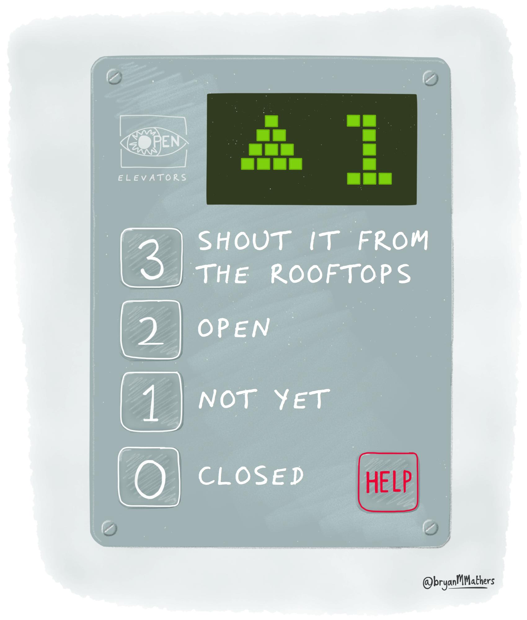 The Open Elevator