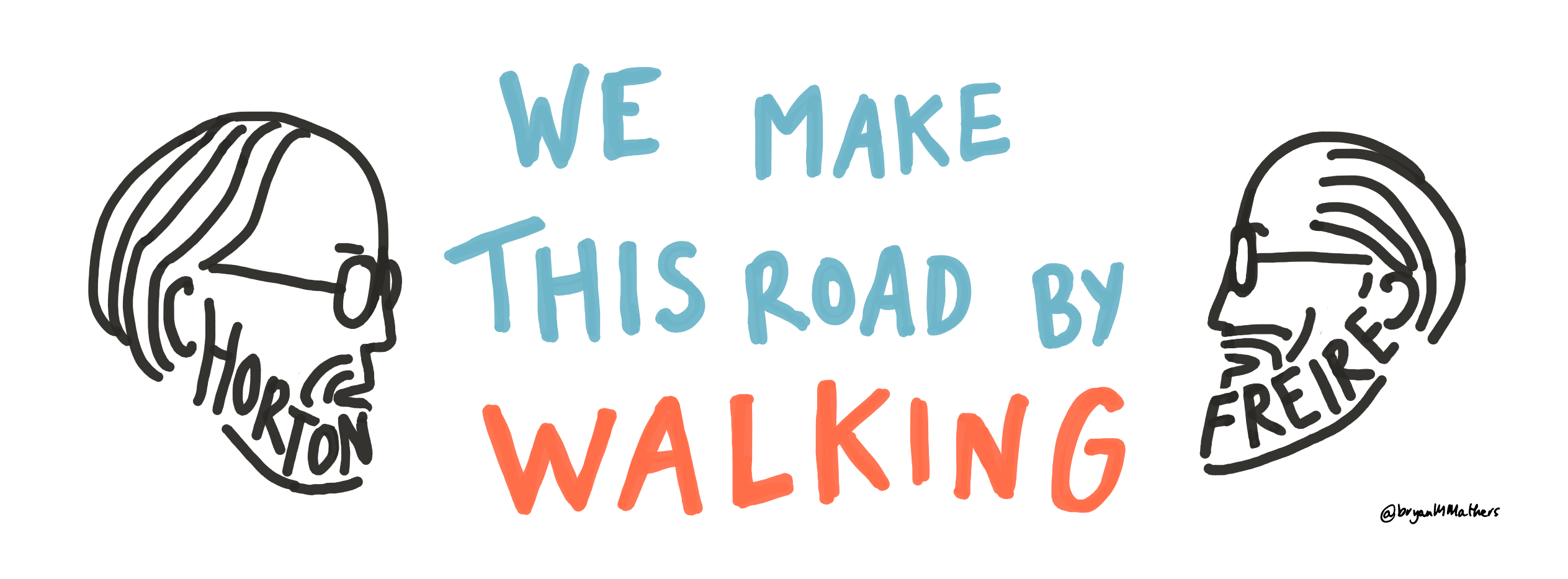 We make this road by walking