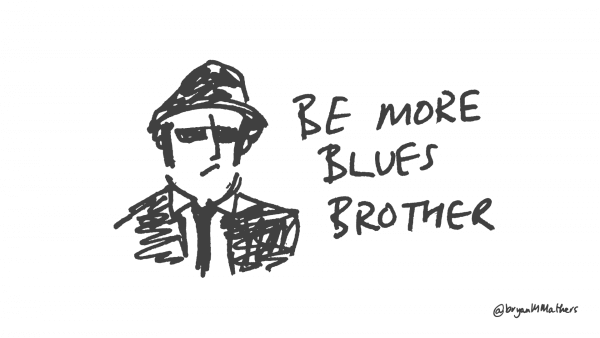 be more blues brother