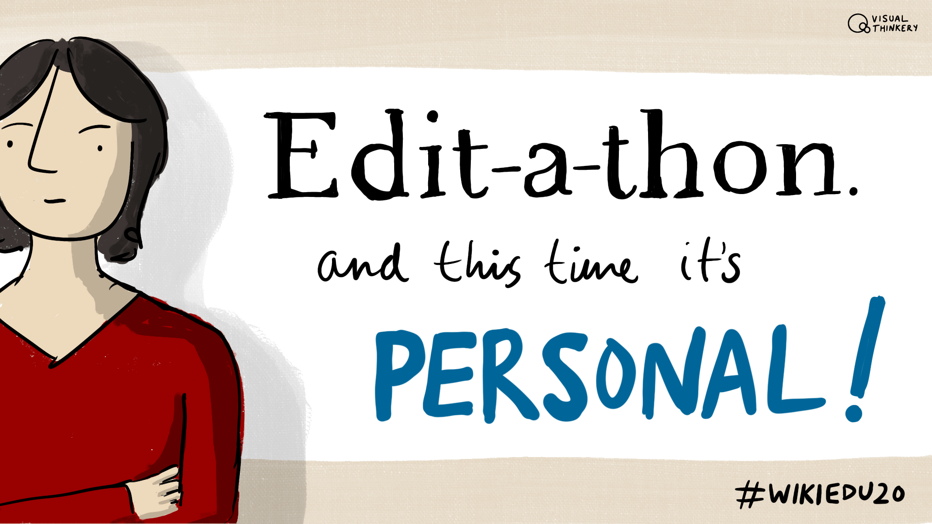 Edit-a-thon - it's personal