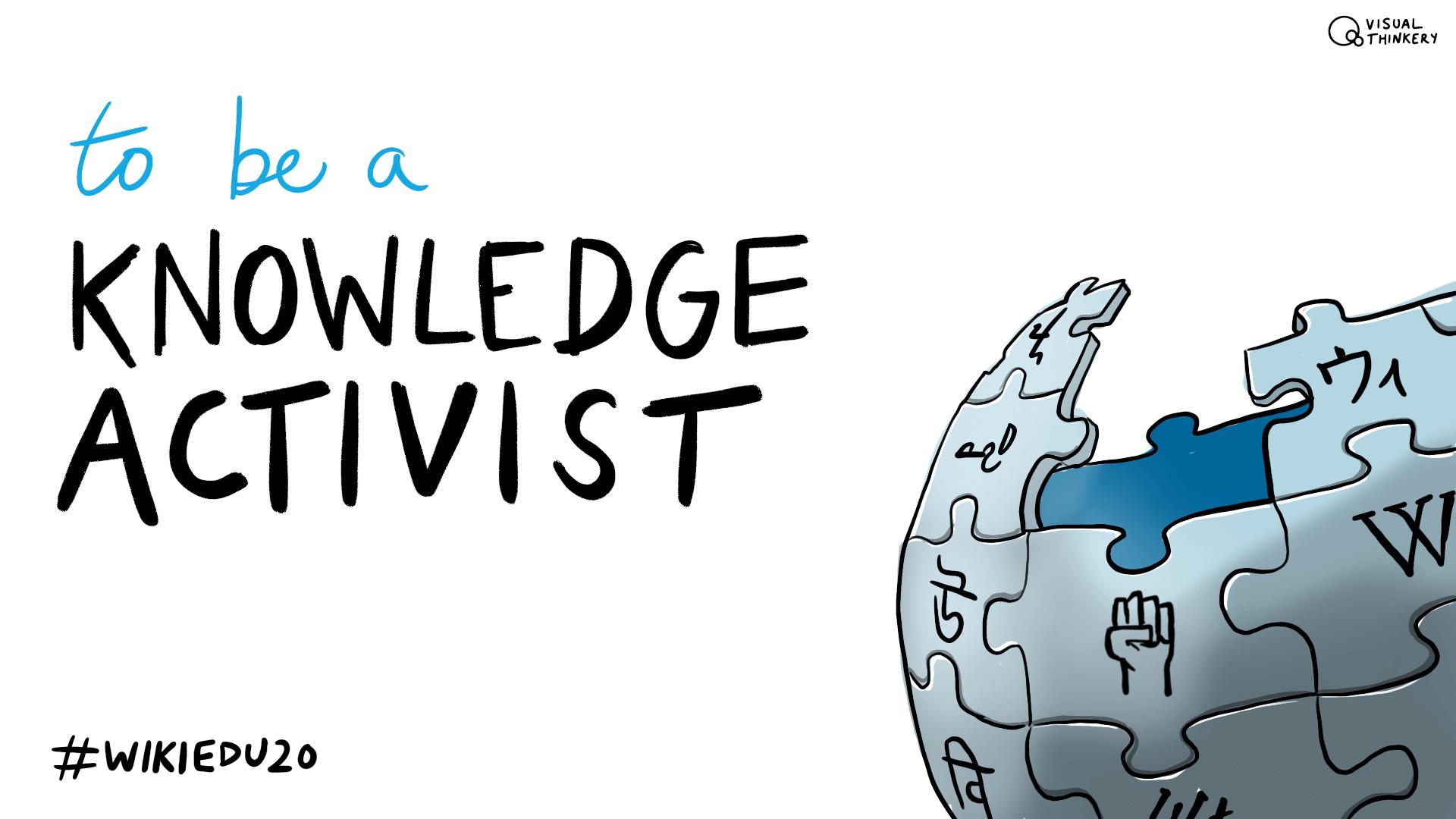 Knowledge activist