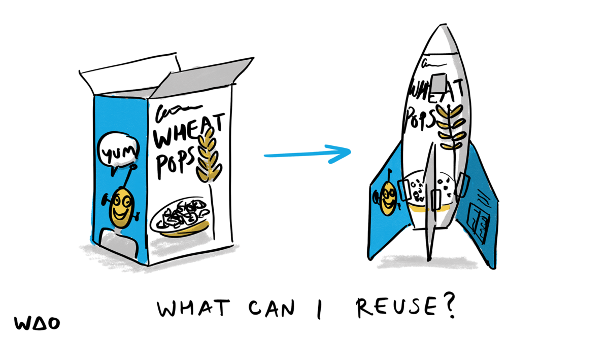 What can I reuse?