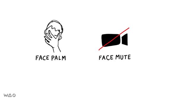 face mute