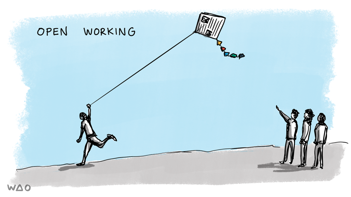 open working